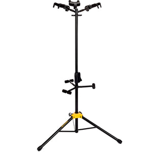 Hercules Auto Grip Tri Guitar Stand W/ Foldable Backrest