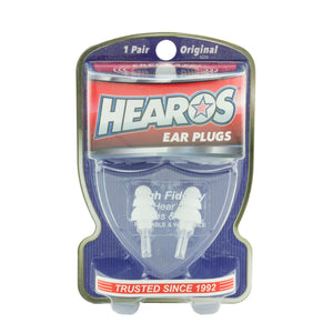 Hearos Hi-Fi Ear Plugs With Case