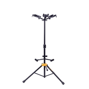 Hercules Plus Series Universal Autogrip Triple Guitar Stand With Foldable Backrest