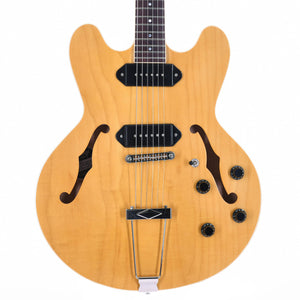 Heritage H-530 Hollow Electric Guitar With Case, Antique Natural