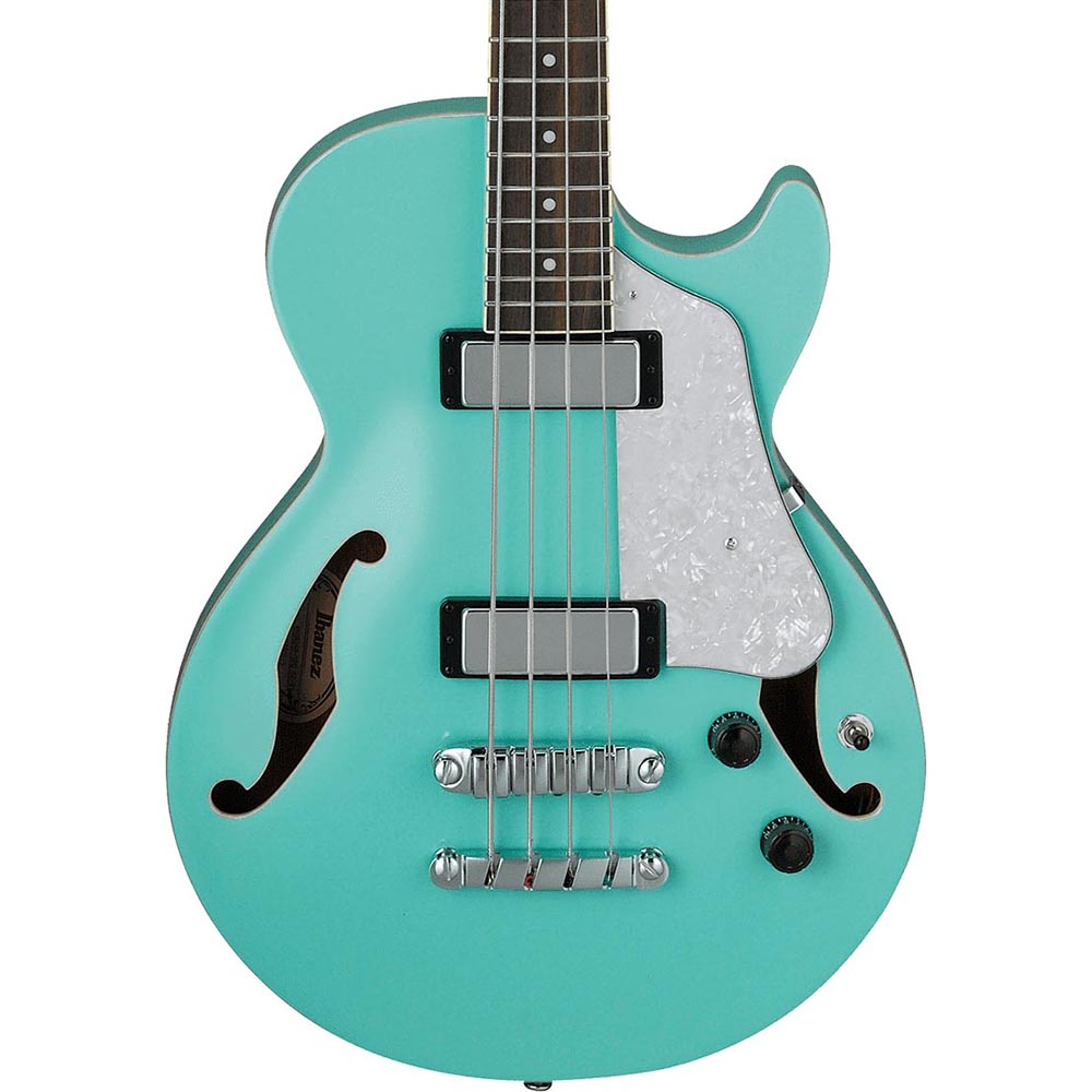 Ibanez AFB Artcore 4 String Electric Hollow Body Bass Sea Foam Green
