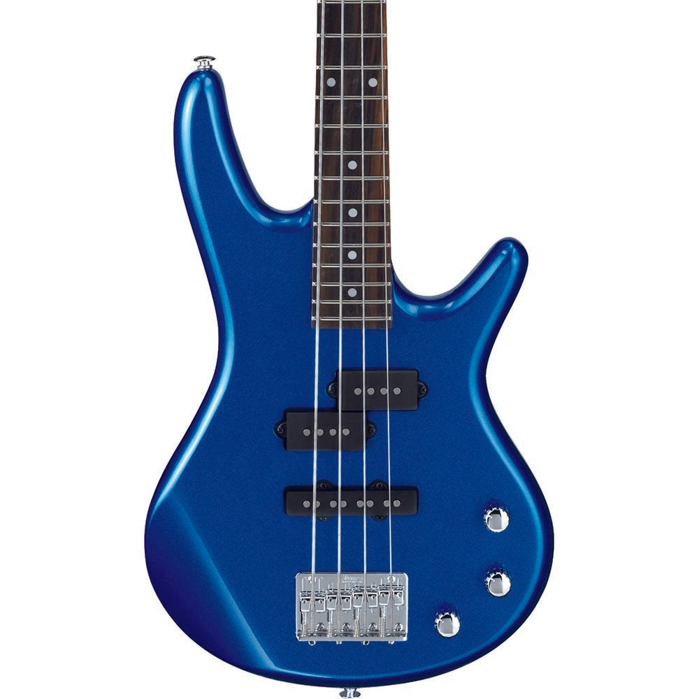 Ibanez Gio Sr Mikro Series Short Scale 4-String Bass - Starlight Blue - Image: 1