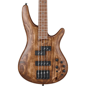 Ibanez SR Standard 4 String Electric Bass, Antique Brown Stained