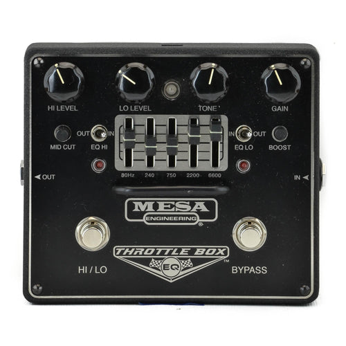 Mesa Boogie Throttle Box Graphic EQ - Used