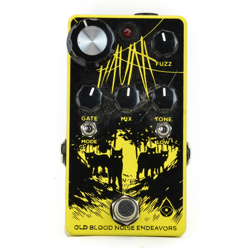 Old Blood Noise Haunt Fuzz Yellow Limited Edition - Used