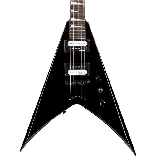 Jackson Js32T King V, Strings-Thru Body, Gloss Black