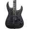 Jackson JS32TQ Dinky - DKA - Quilted Maple - Trans Black