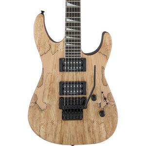 Jackson X Series Soloist SLX - Dark Walnut - Spalted Maple