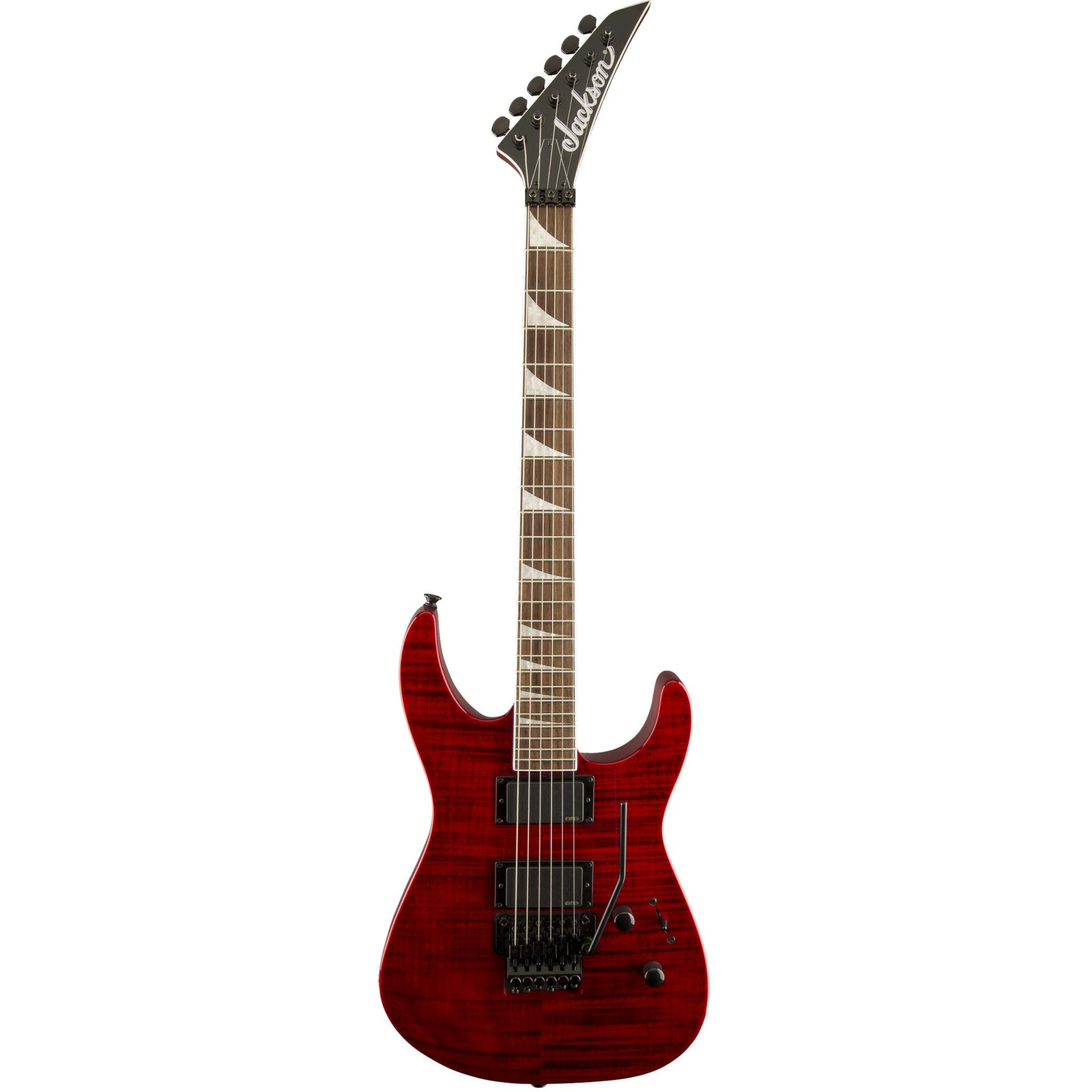 Jackson X-Series Soloist SLXFMG - Transparent Red