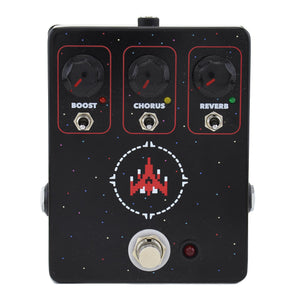 JHS Space Commander Boost Chorus And Reverb Pedal