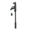 K&M Two-Piece Telescoping Boom Arm - Black
