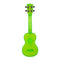Kala Waterman Soprano Ukulele - Fluorescent/Gloss Green
