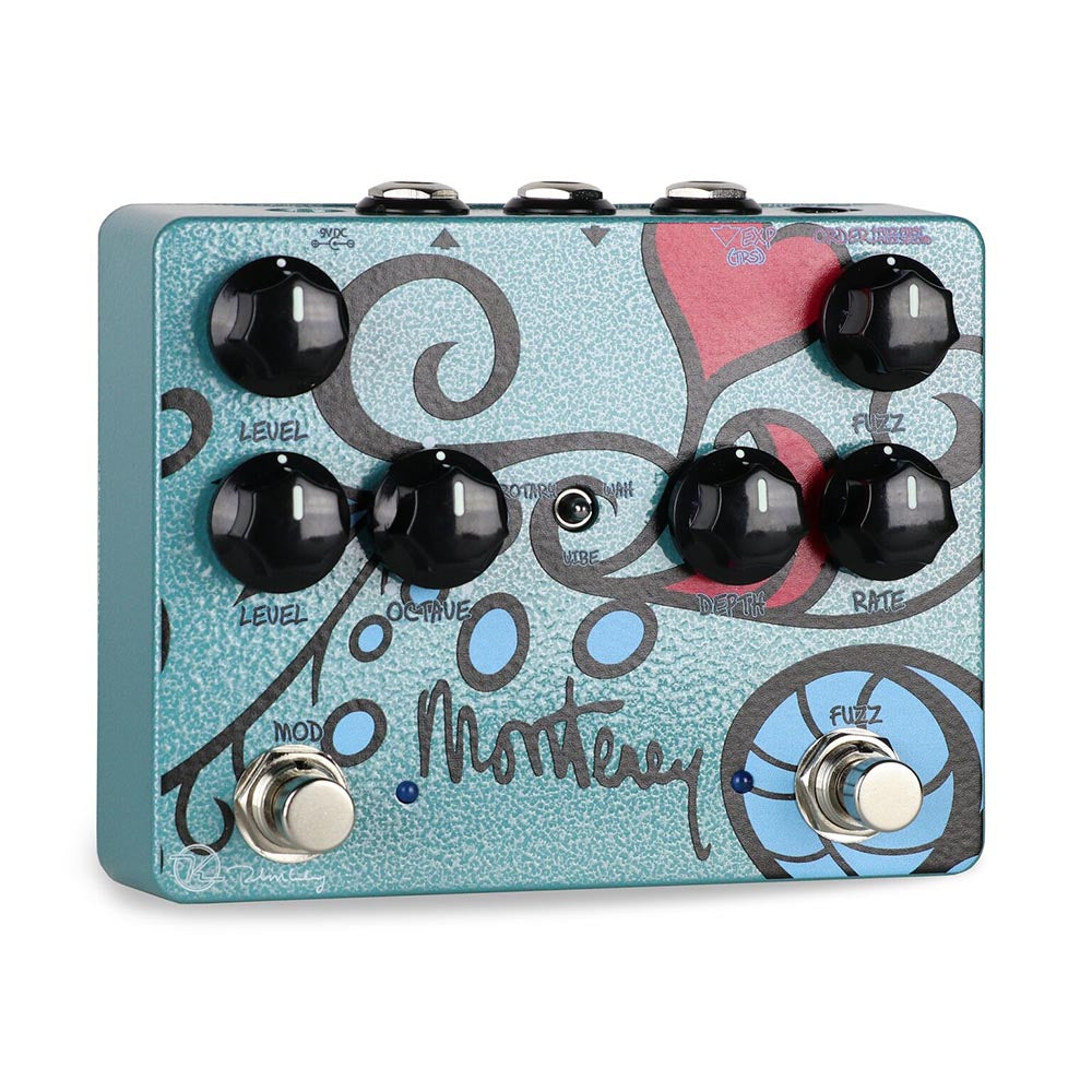 Keeley Monterey Rotary Fuzz Vibe Pedal