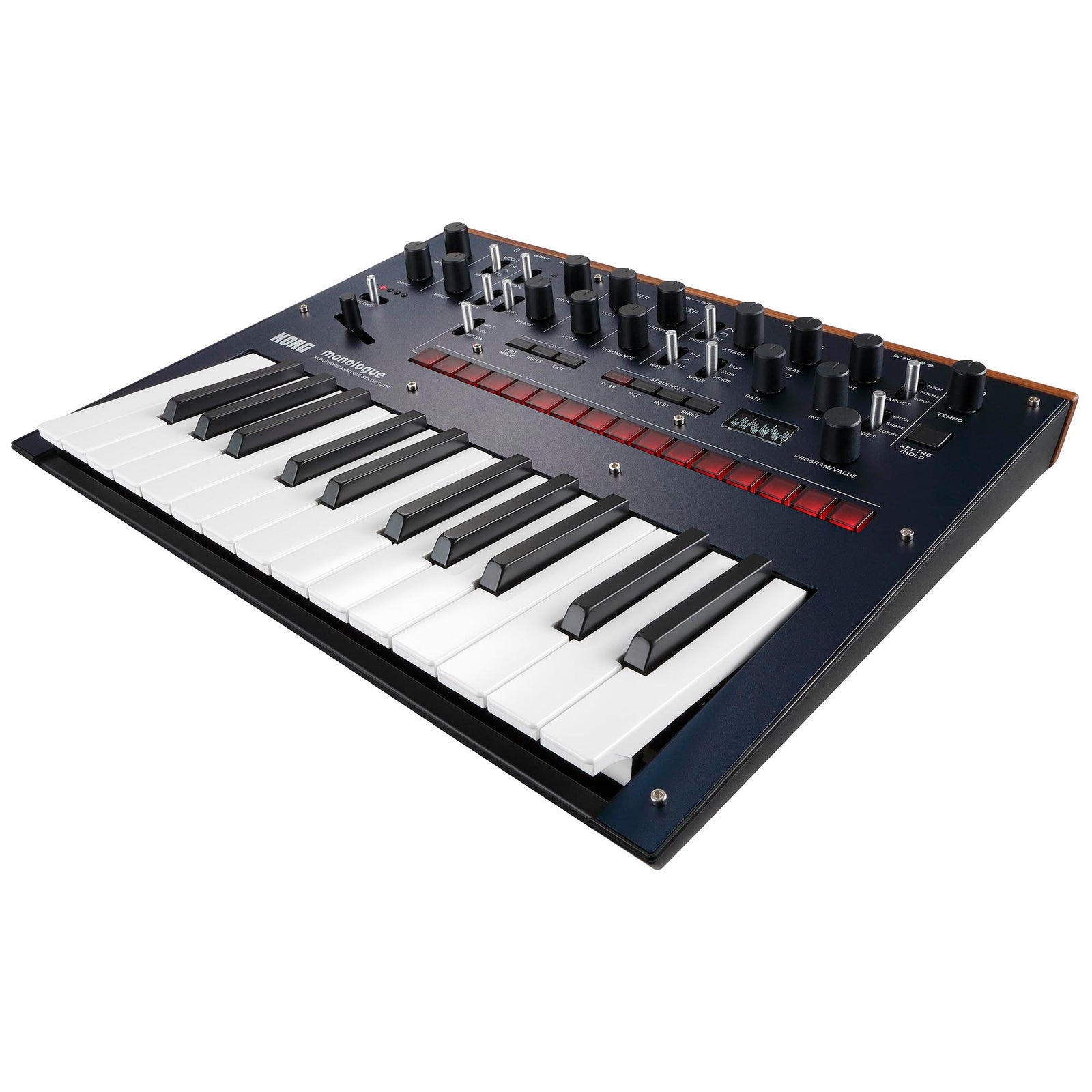 Korg Monologue Monophonic Analog Synthesizer With Presets - Blue