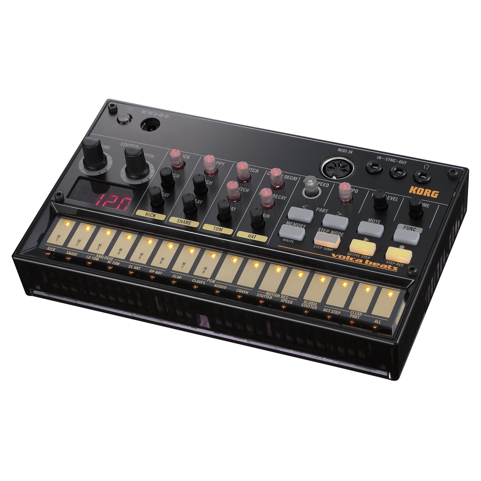 Korg Volcabeats Analog Rhythm Machine