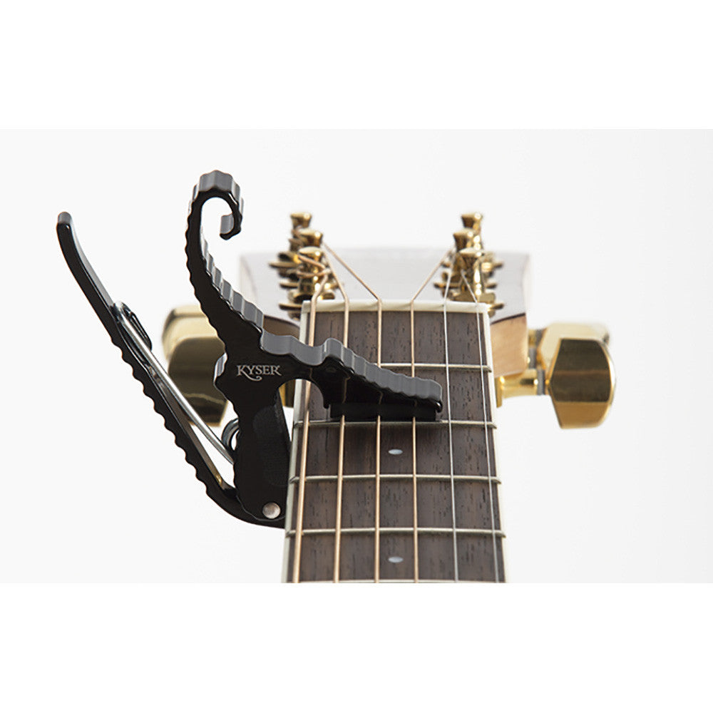 Kyser Black Short Cut Capo