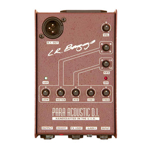L.R. Baggs Para Acoustic Guitar DI Box And Preamp