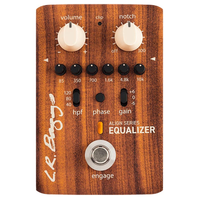 LR Baggs Align Series Equalizer Acoustic Preamplifier Pedal