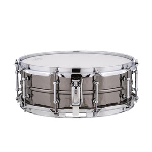 "Ludwig 14x5"" Black Beauty Snare - Hammered Shell-Tube Lugs"