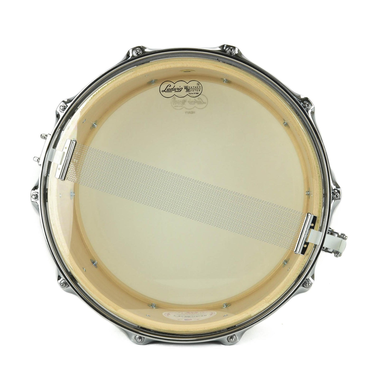 "Ludwig 6.5x14"" Legacy Classic Custom Snare - 10-Lug - Blue Olive Oyster"