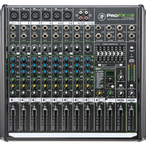 Mackie 12-Channel Mixer With USB And FX