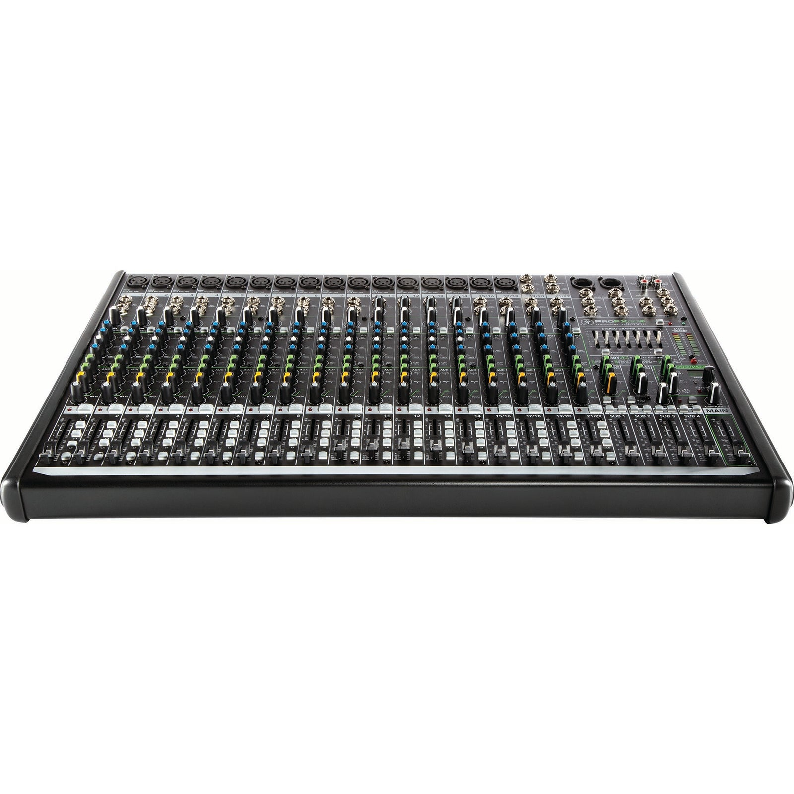 Mackie 22-Channel Mixer With Build-In Effects And USB