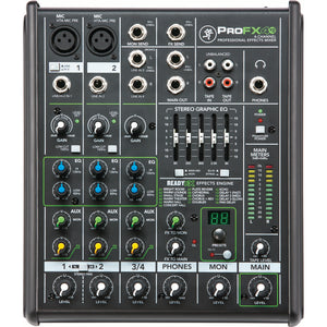 Mackie 4-Channel Pro Compact Mixer With FX
