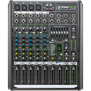 Mackie 8-Channel Compact Mixer With USB And Built-In Effects
