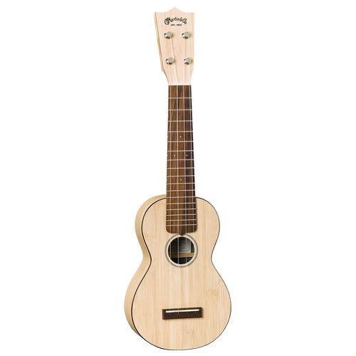 Martin 0X Uke Bamboo With Gigbag - Natural