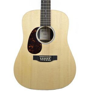 Martin D12X1AE Left Handed Dreadnought Acoustic Guitar