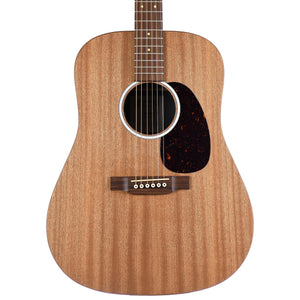 Martin DX2E Natural Macassar Ebony With Gig Bag