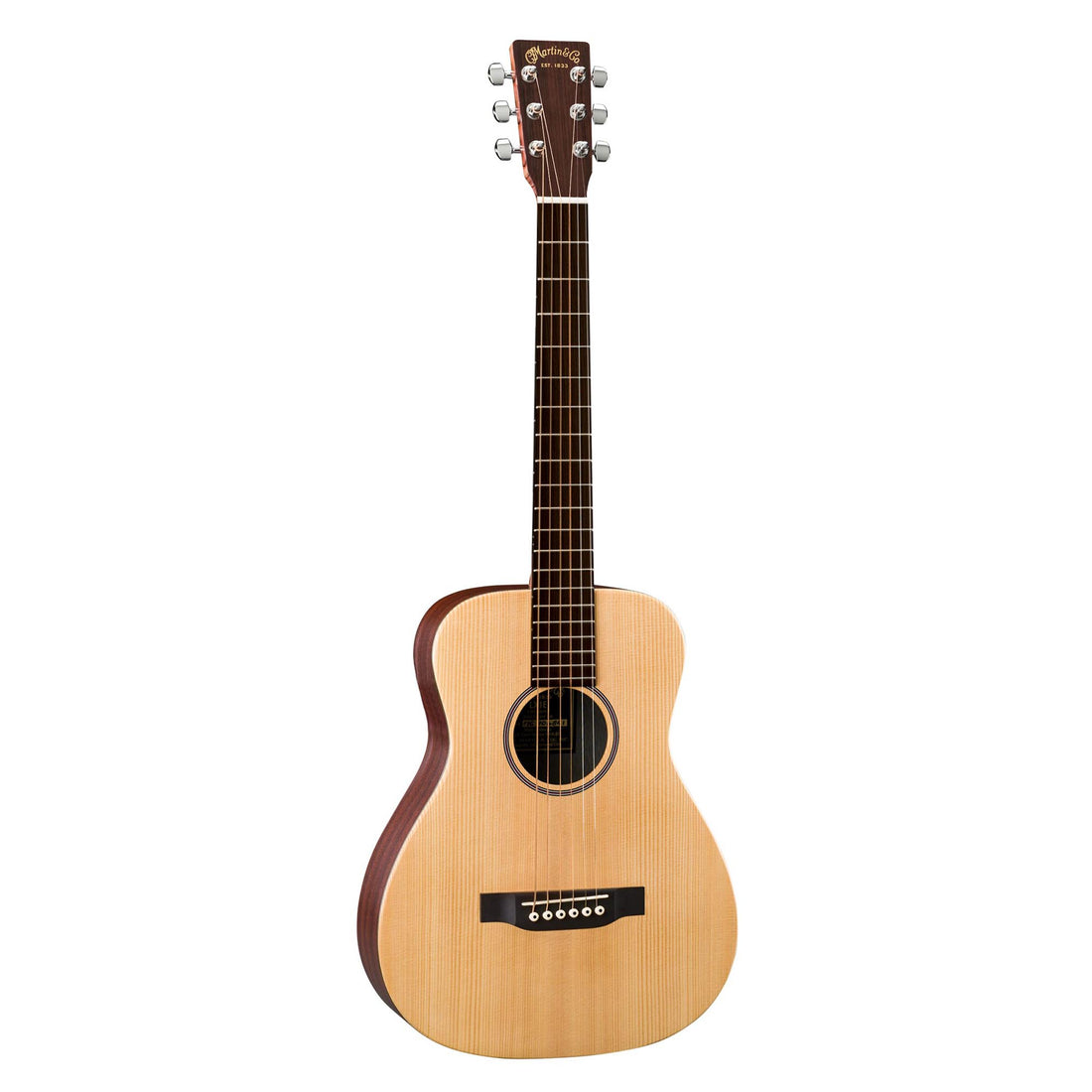 Martin LX1E 3/4 Size Spruce Top - Natural