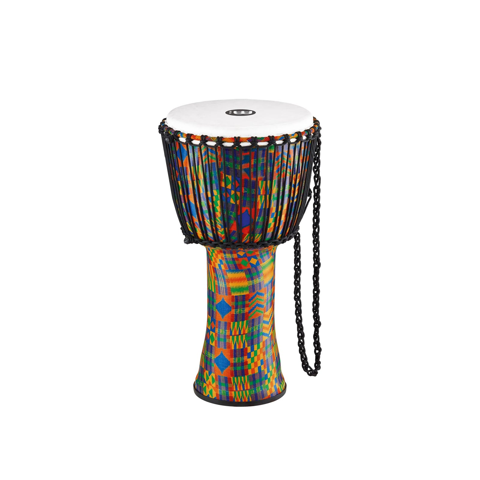 "Meinl 12"" Travel Djembe - Rope-Tuned - Synthetic - Kenyan Quilt"