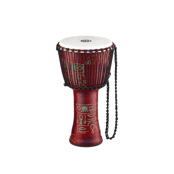 "Meinl 12"" Travel Djembe - Rope-Tuned - Synthetic - Pharaoh's Script"