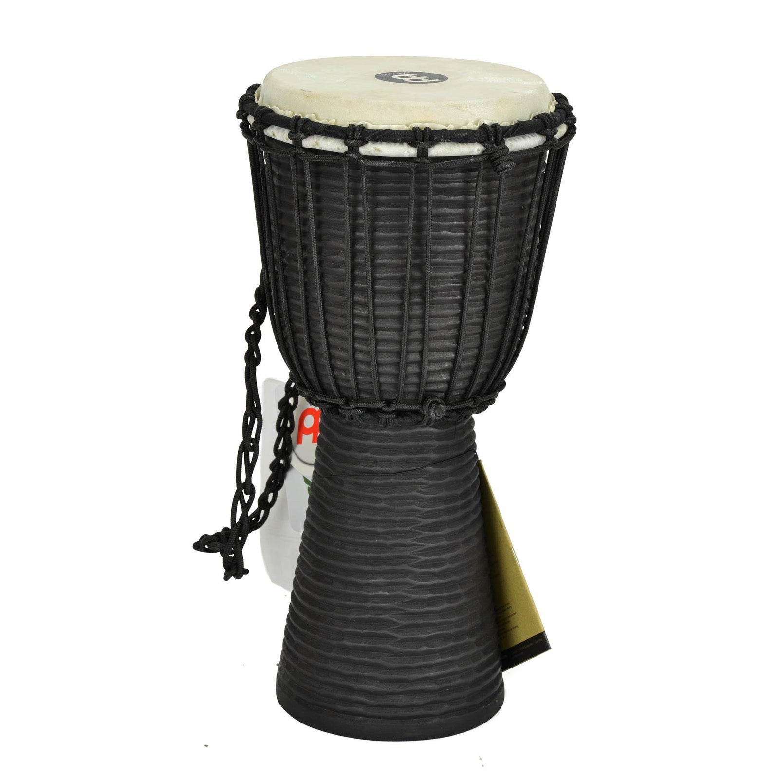 "Meinl 8"" Black River Series Rope-Tuned Wood Djembe"