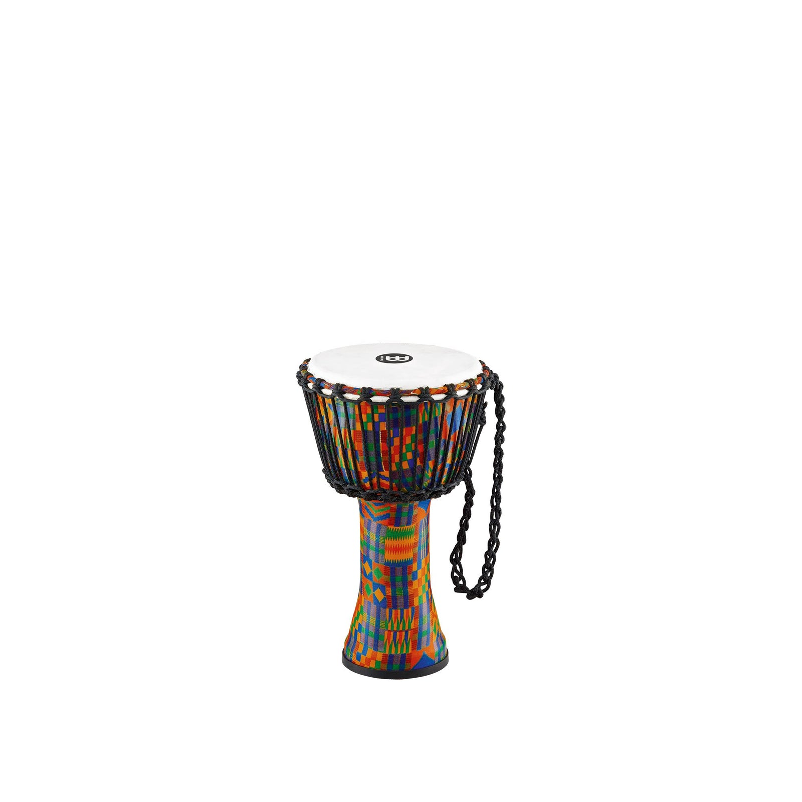 "Meinl 8"" Travel Djembe - Rope-Tuned - Synthetic - Kenyan Quilt"