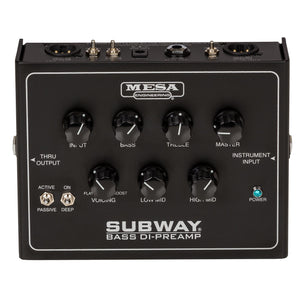 Mesa Boogie Subway Bass DI-Preamp