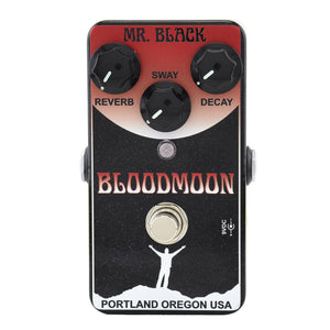 Mr. Black Bloodmoon Reverb Pedal