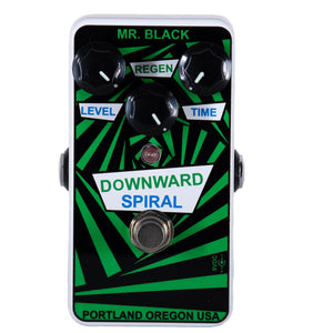 Mr. Black Downward Spiral Delay Pedal
