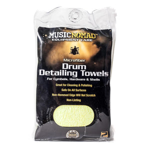 Music Nomad 2 Pack-Edgeless Microfiber Drum Detailing Towels