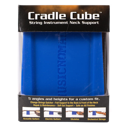 Music Nomad Cradle Cube - Neck Support For All Stringed Instruments