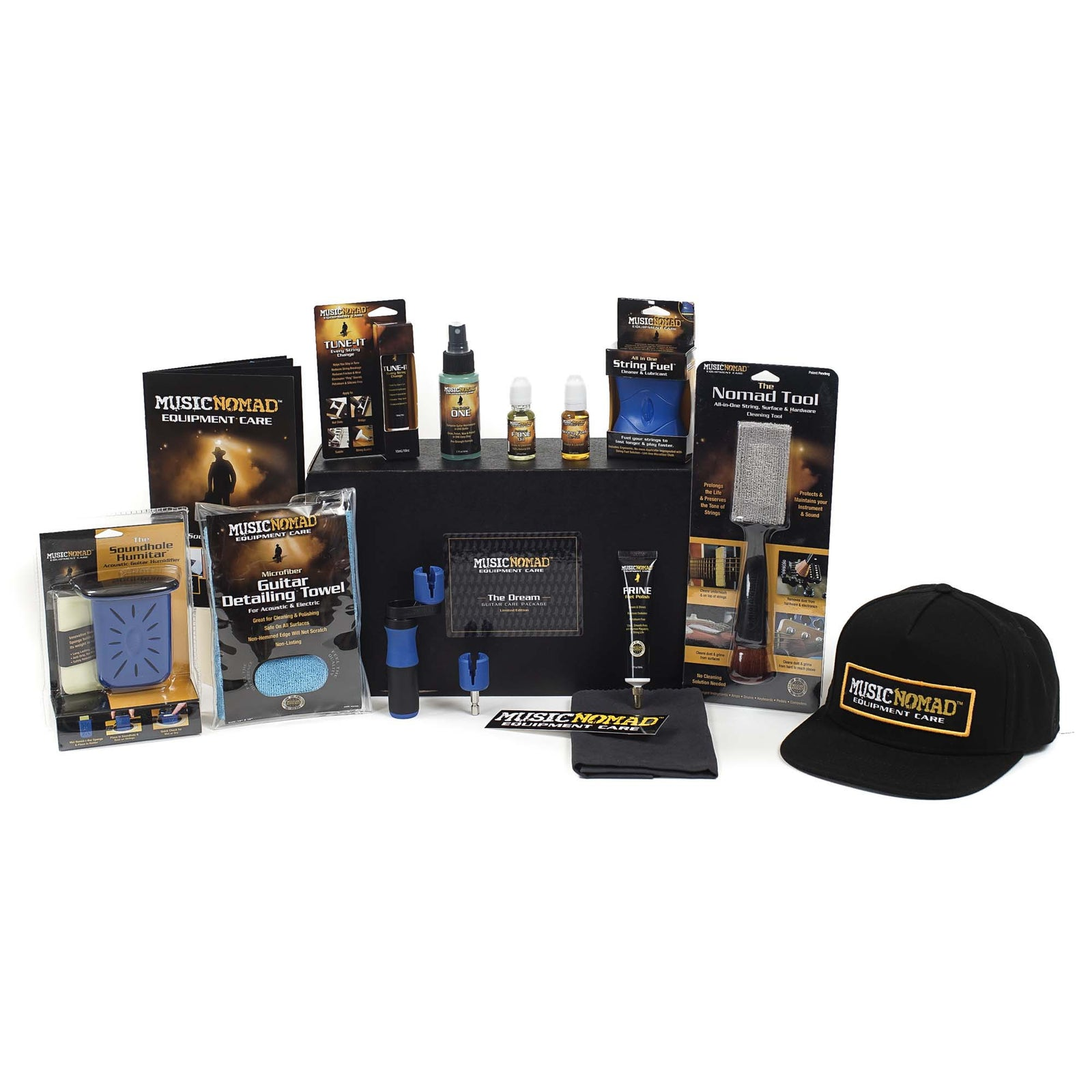 Music Nomad The Dream Guitar Care Pack - Limited Edition (12 Pak Plus Hat)