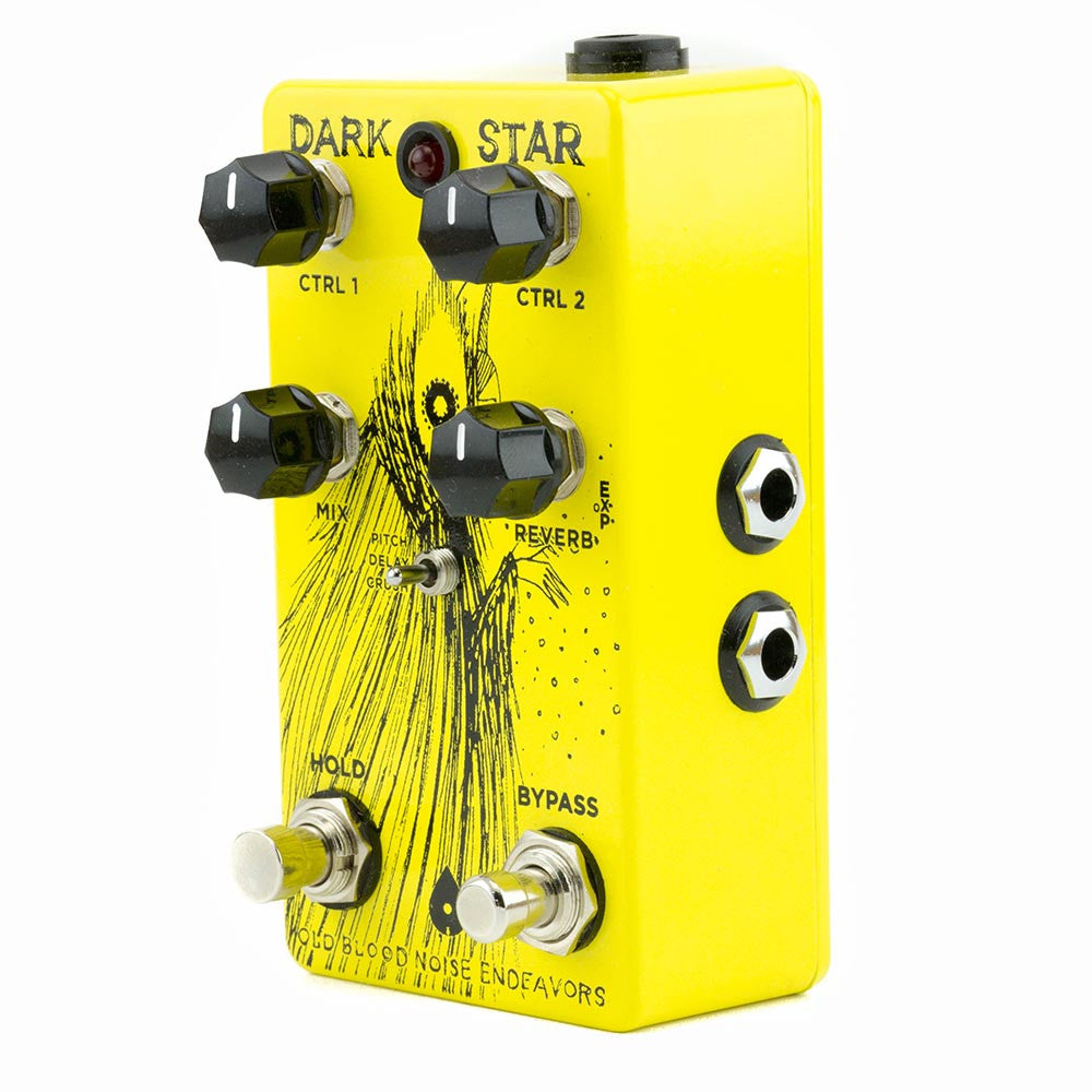 Old Blood Noise Dark Star Pad Reverb V2 - Yellow & Black