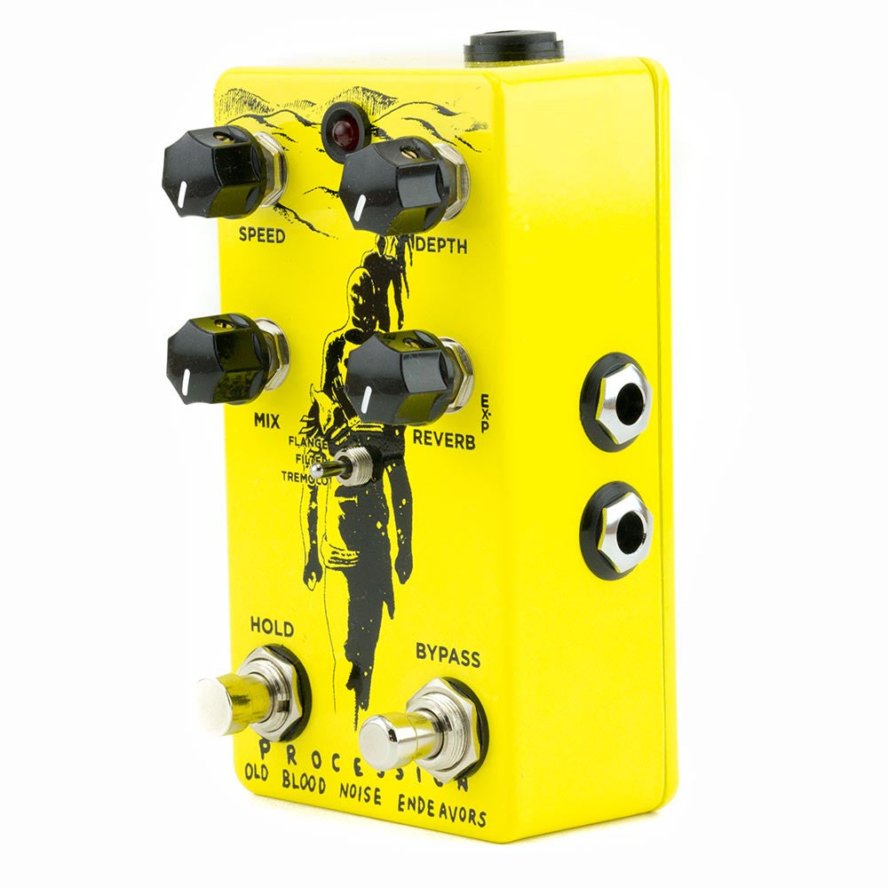 Old Blood Noise Procession Reverb V2 - Yellow & Black