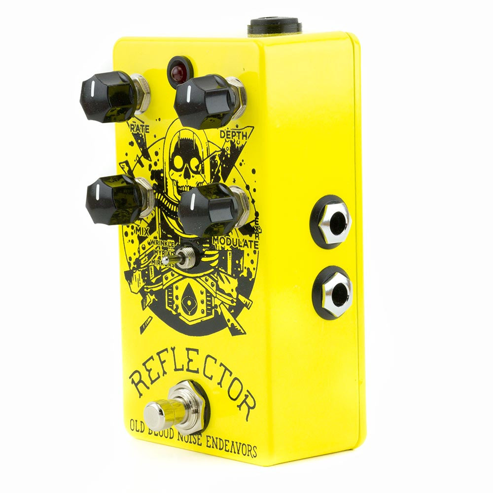Old Blood Noise Reflector Chorus V2 - Yellow & Black