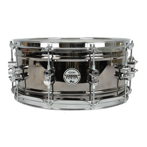 "Pacific 6.5x14"" Black Nickel Over Steel Snare"