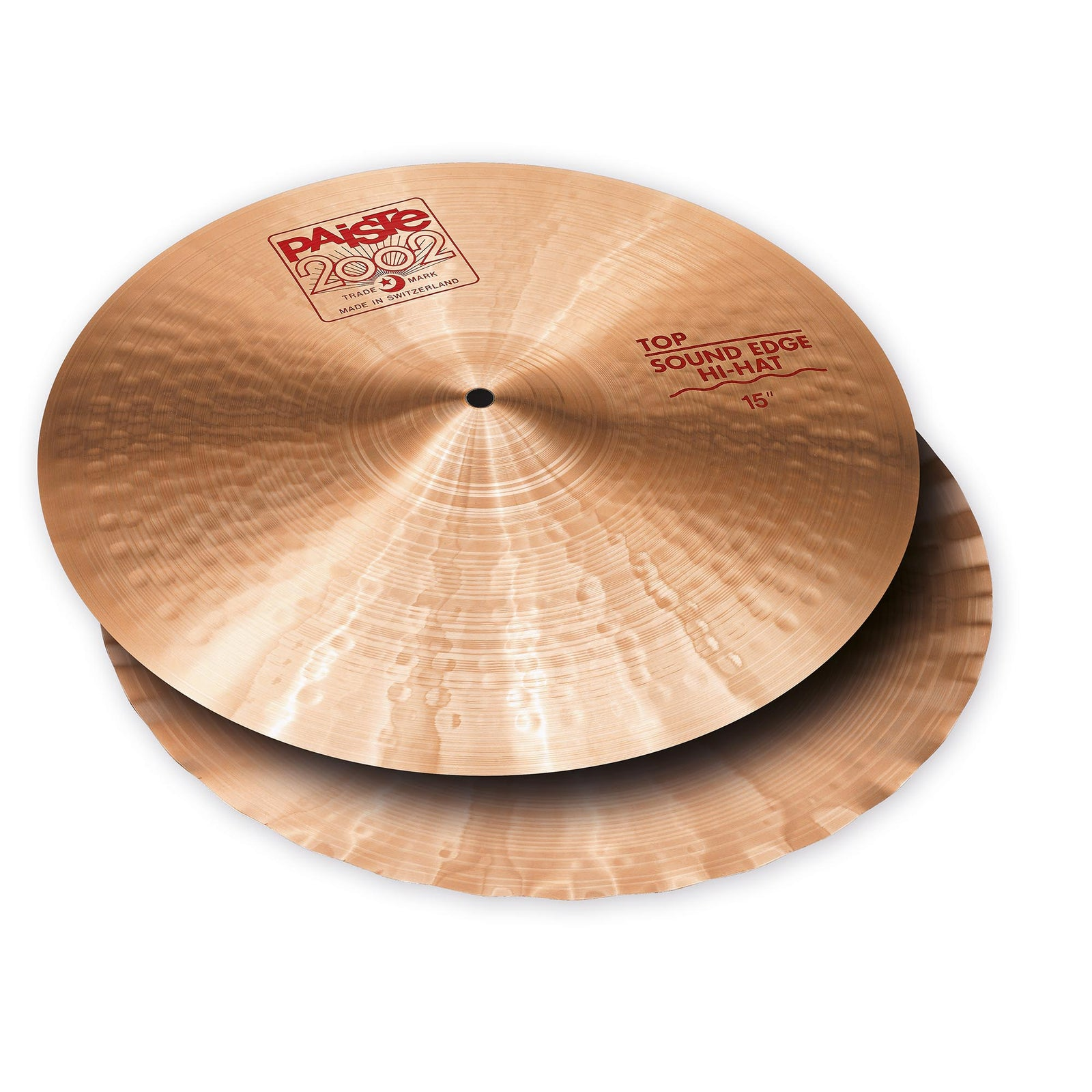 "Paiste 15"" 2002 Sound Edge Hi-Hat Pair"