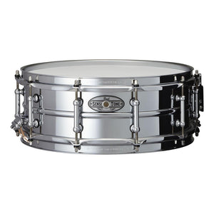 "Pearl 14x5"" Beaded Steel Sensitone Snare Drum"