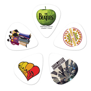 D'Addario Beatles Guitar Picks - Albums - 10 Pack Thin