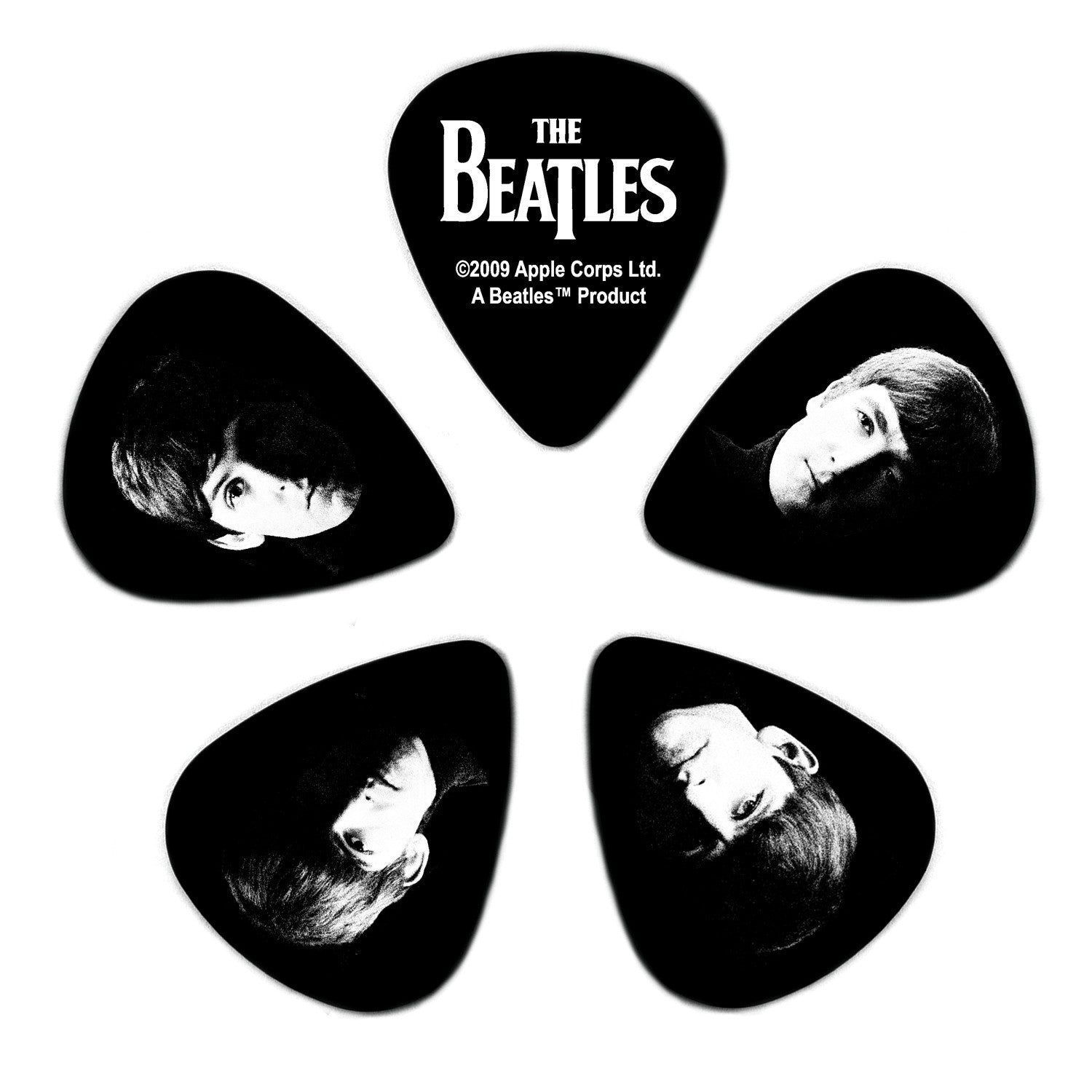Planet Waves Beatles Guitar Picks - Meet The Beatles - 10 Pack Heavy